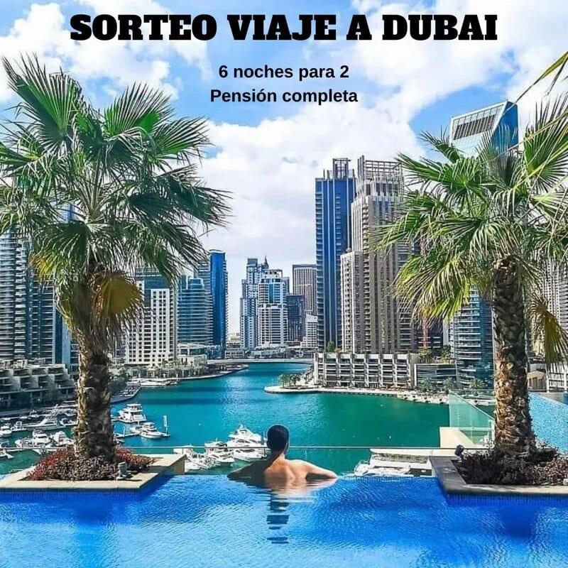SORTEO VIAJE A DUBAI - Sorteo viaje a Dubai