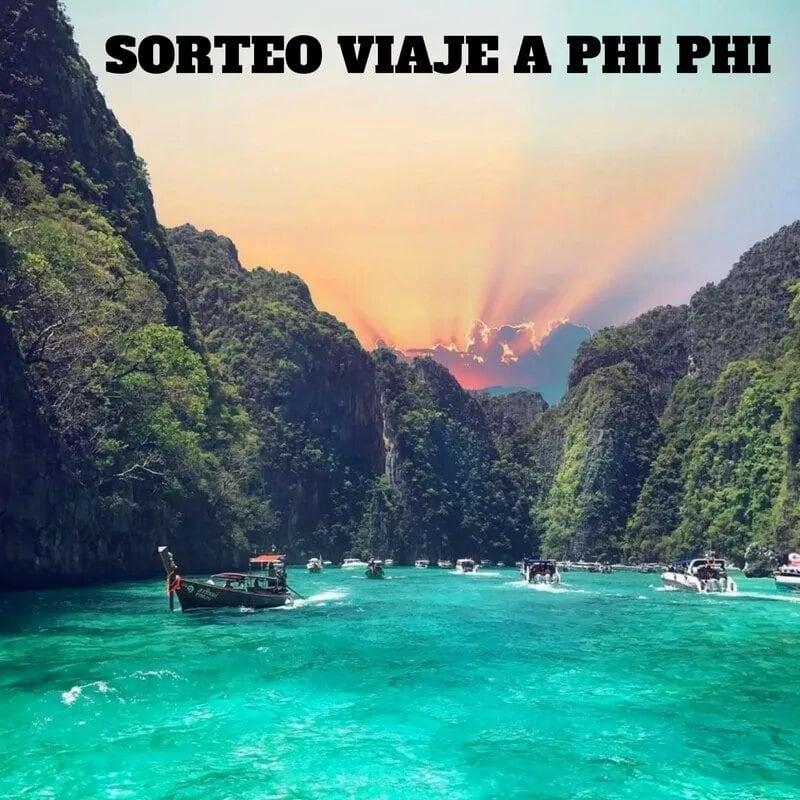 SORTEO VIAJE A PHI PIHI - Sorteo viaje a PHI PHI