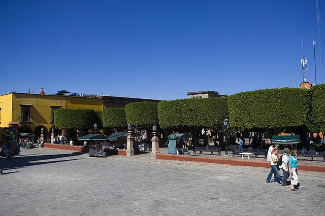 El Jardín, plaza principal de San Miguel Allende