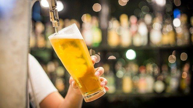 Cerveza en El Manantial