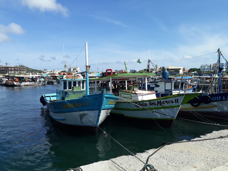 Paseo en bote, Arraial Do Cabo