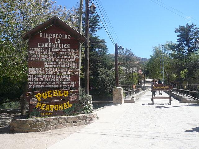 Pueblo peatonal La Cumbrecita