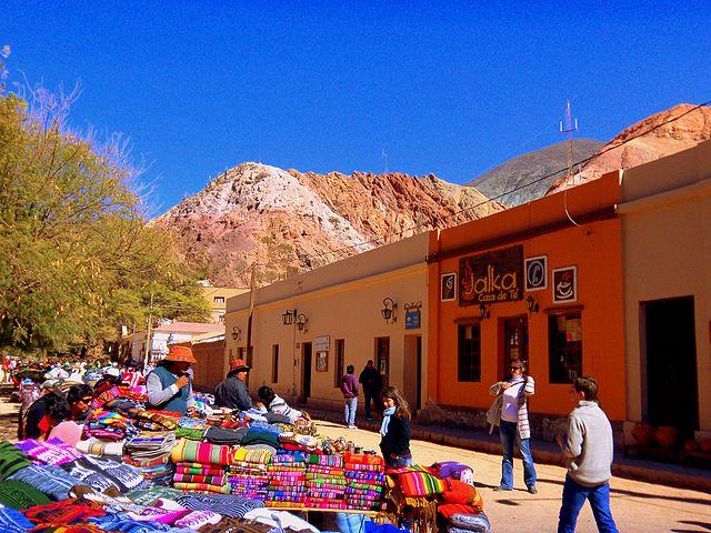Feria de artesanías de Purmamarca