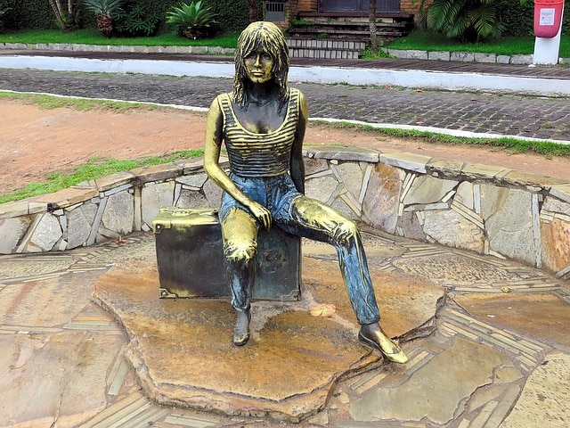 Estatua de Brigitte Bardot