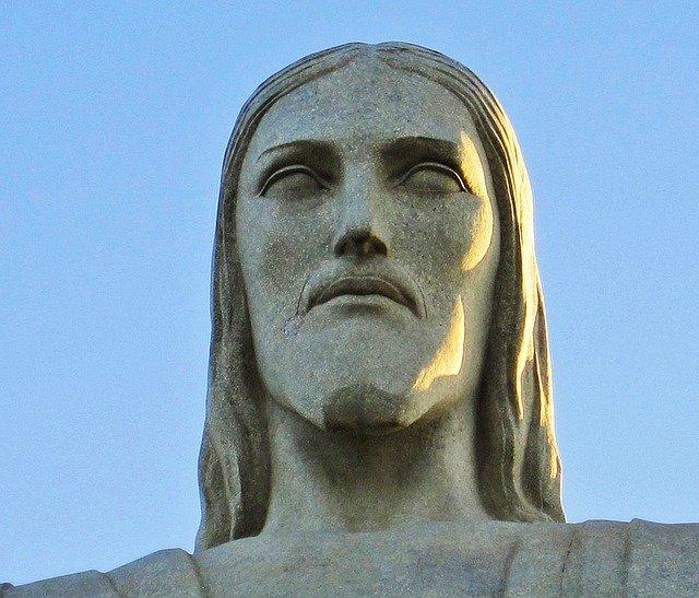Rostro del Cristo del Corcovado