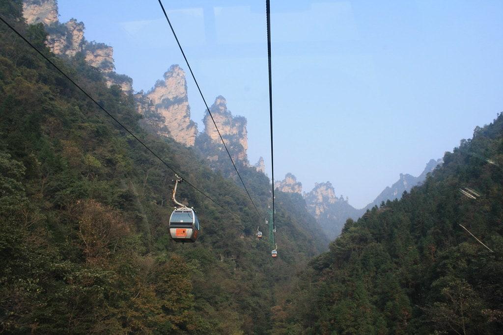 cuánto tiempo se necesita para recorrer el parque Zhangjiajie
