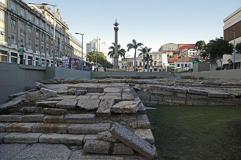 Cais do Valongo, Río de Janeiro