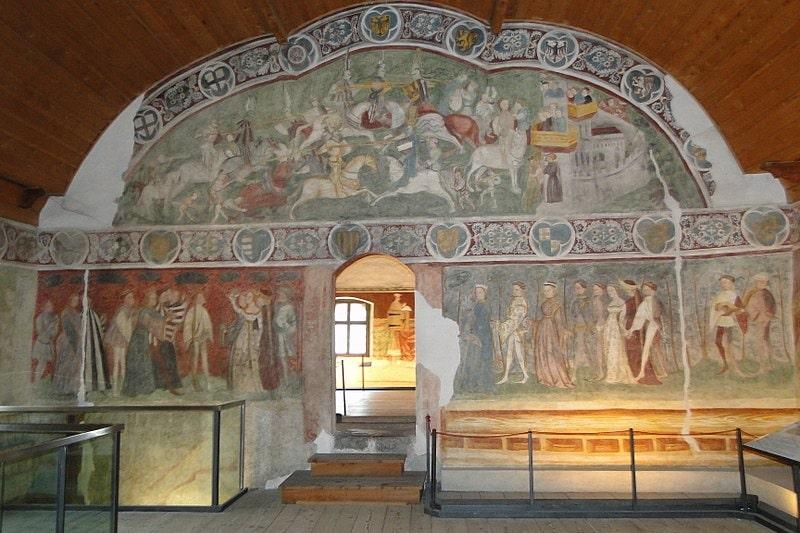 Frescos del Castel Roncolo - Schloss Runkelstein