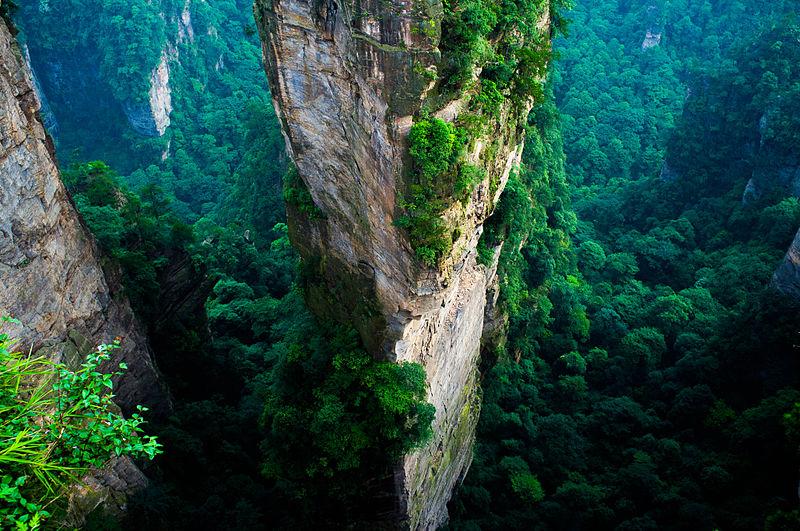 área de Yangjiajie