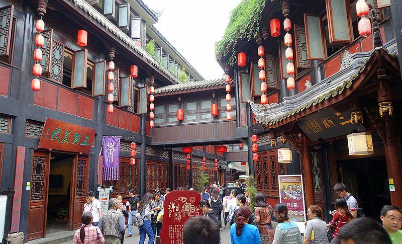 Chengdu, centro histórico