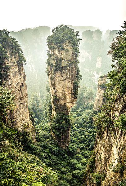 La montaña de Aleluya de Avatar