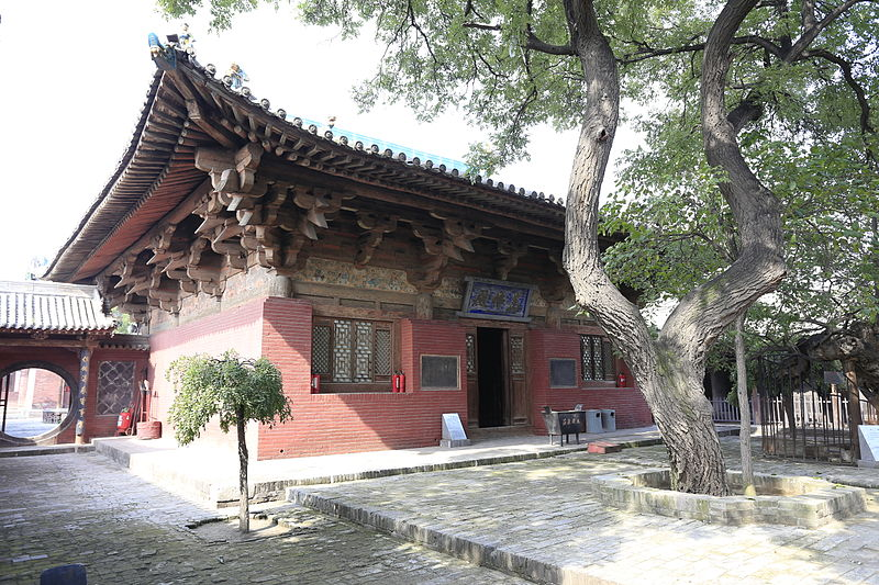 Templo Zhenguosi, Pingyao