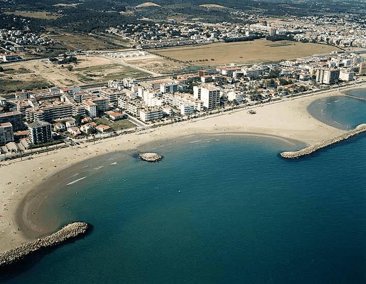 playas de Cunit