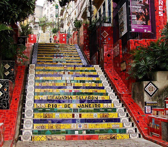 Escaleras de Selaron, Río de Janeiro