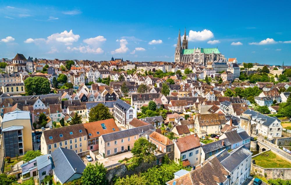 Ciudad de Chartres y su catedral