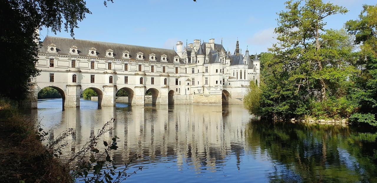 Castillo de Chenonceau, ruta del Valle de Loira