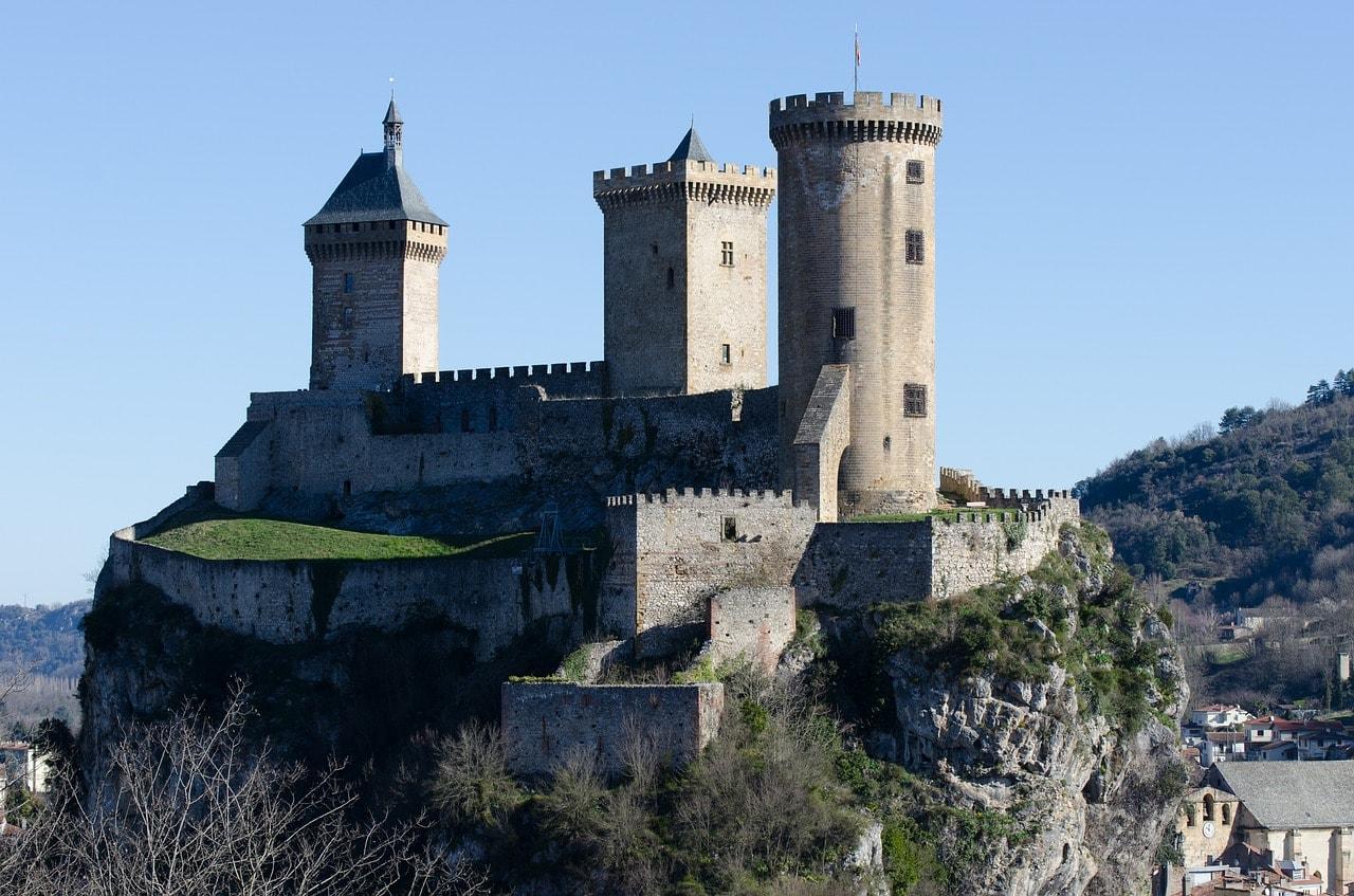Foix, sur de Francia