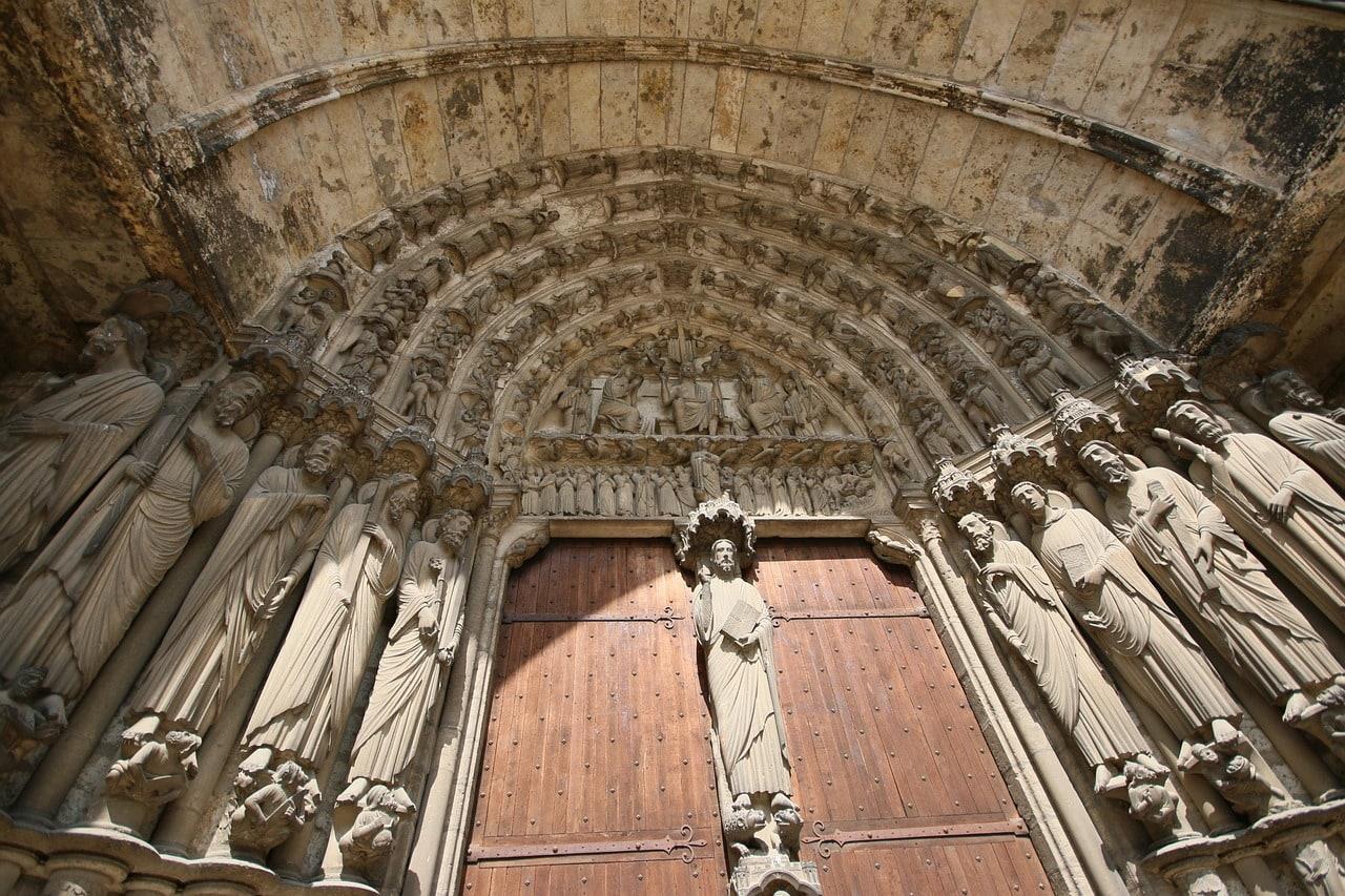 Catedral de Chartres, fachada
