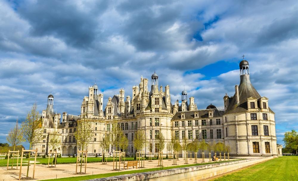 Castillo de Chambord, ruta por el Valle de Loira