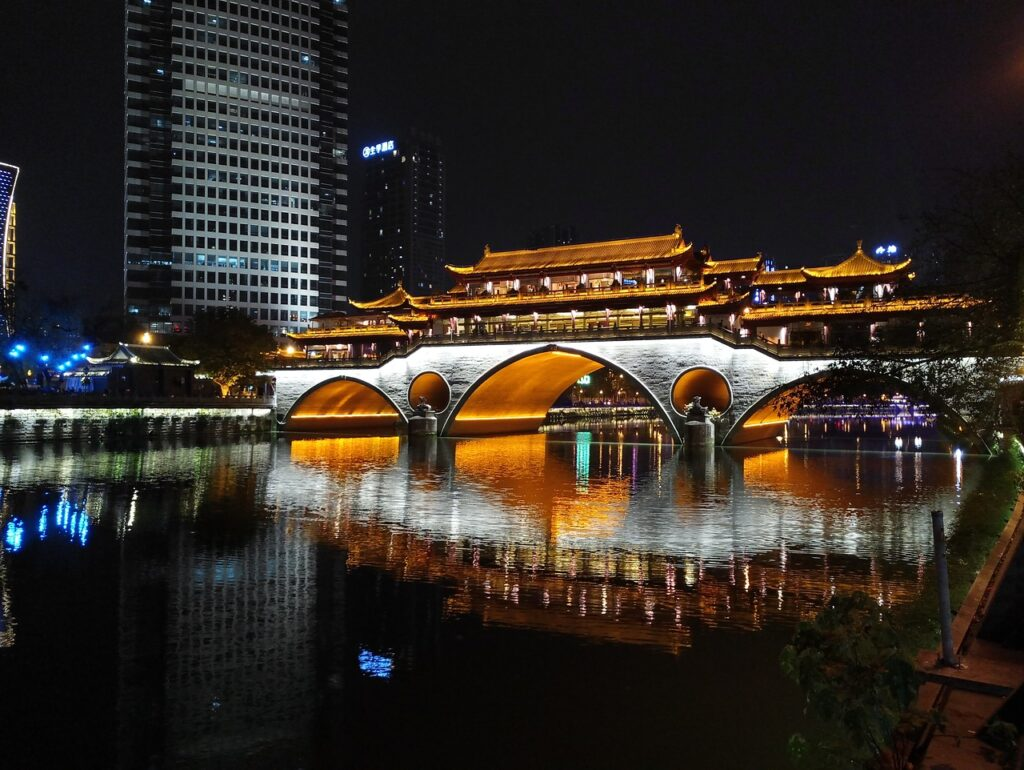 Puente Anshun, Chengdu