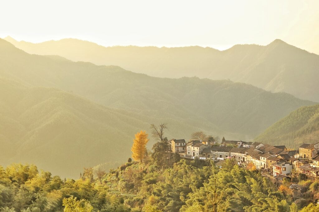 Montaña sagrada de China