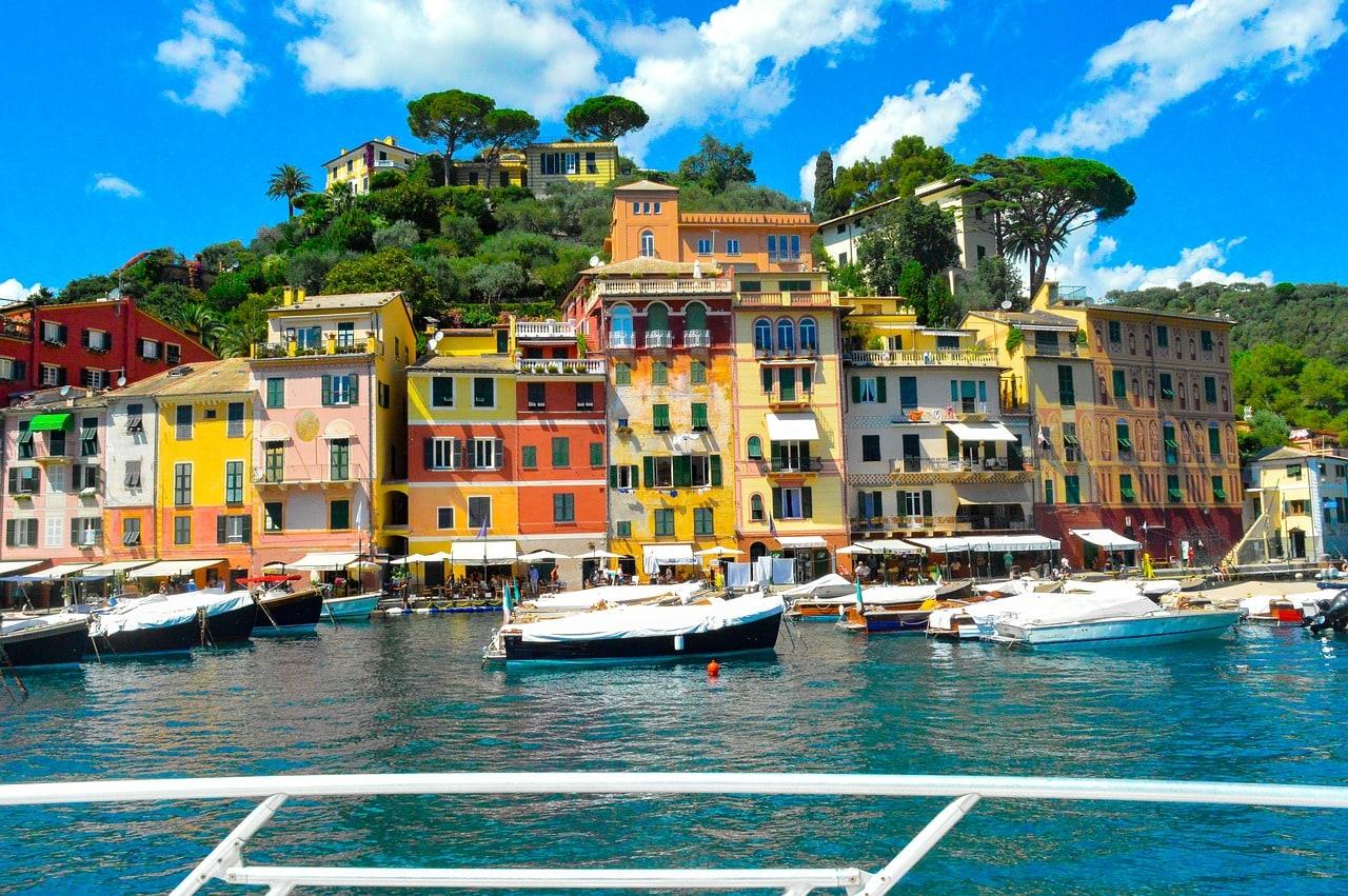 Casitas de colores, Portofino Italia