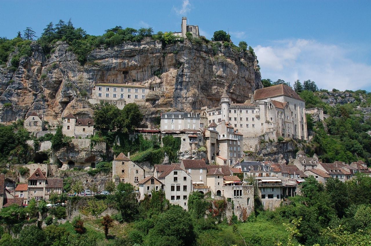 Rocamadour, sur de Francia