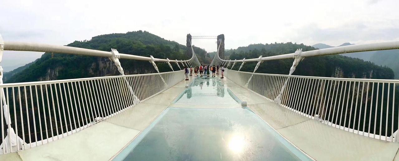 puente de cristal Zhangjiajie