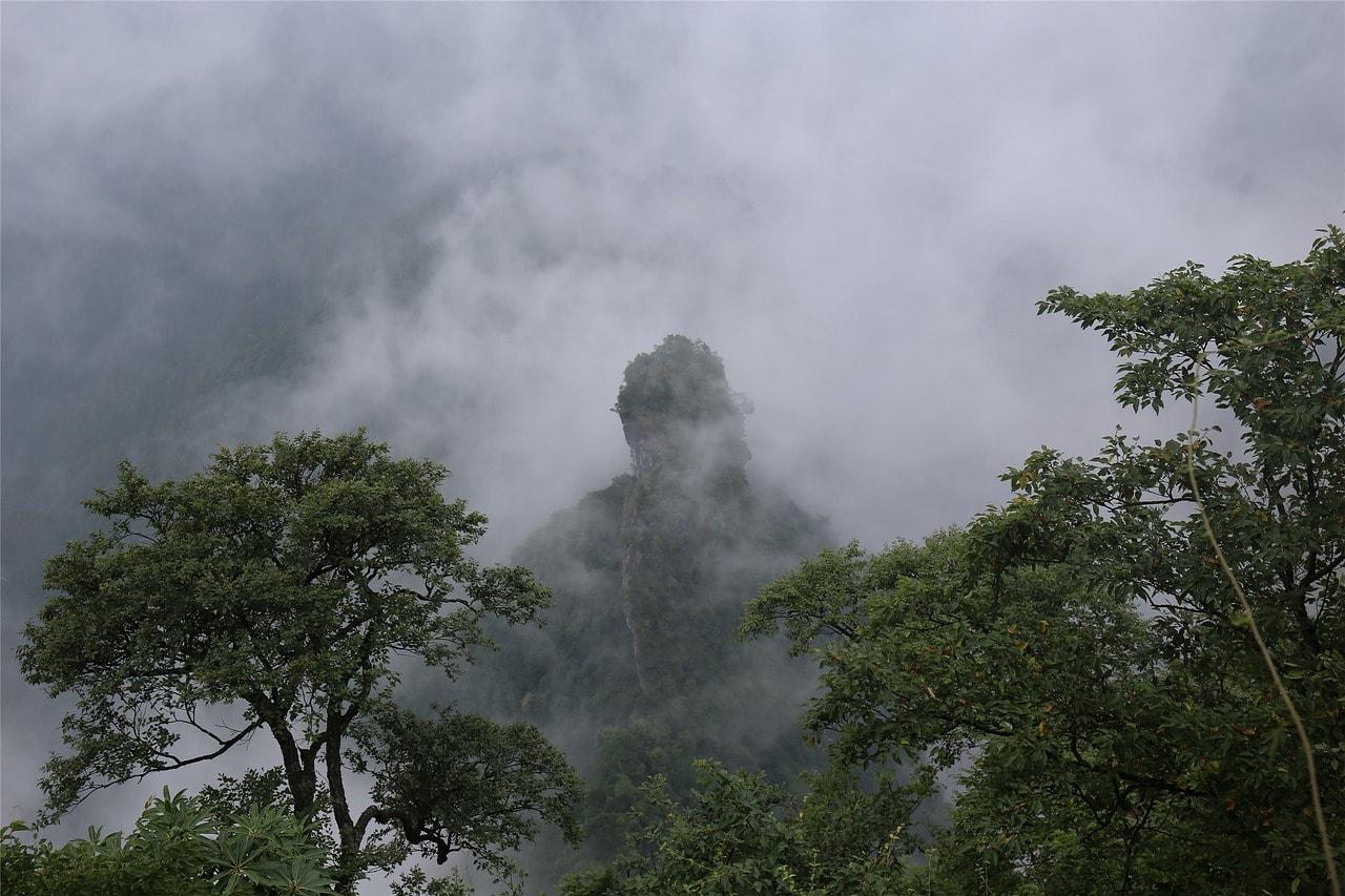 Montaña de Tianzi, Zhangjiajie
