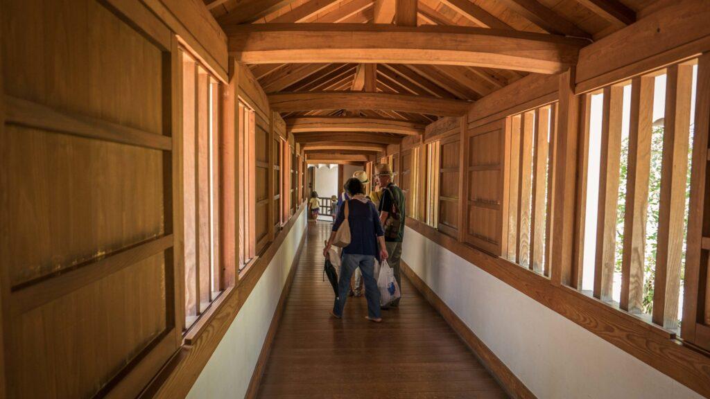 Interior del Castillo Himeji