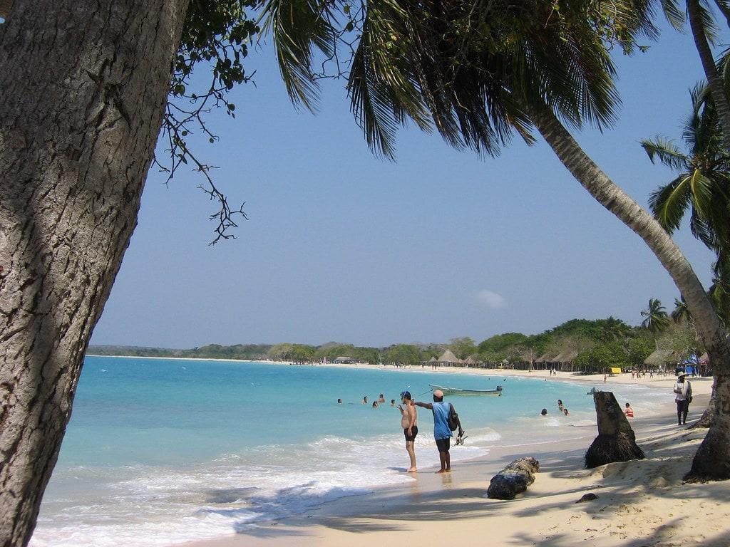 Playa Blanca, Isla de Barú Colombia