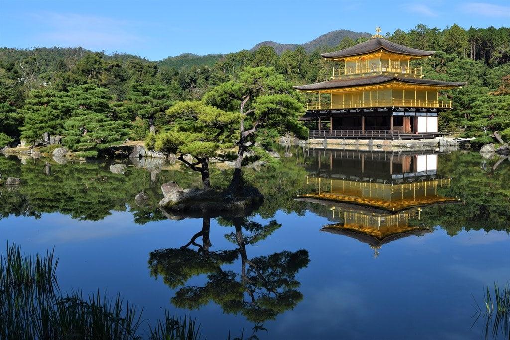 Templo Kinkaku-ji, Kioto