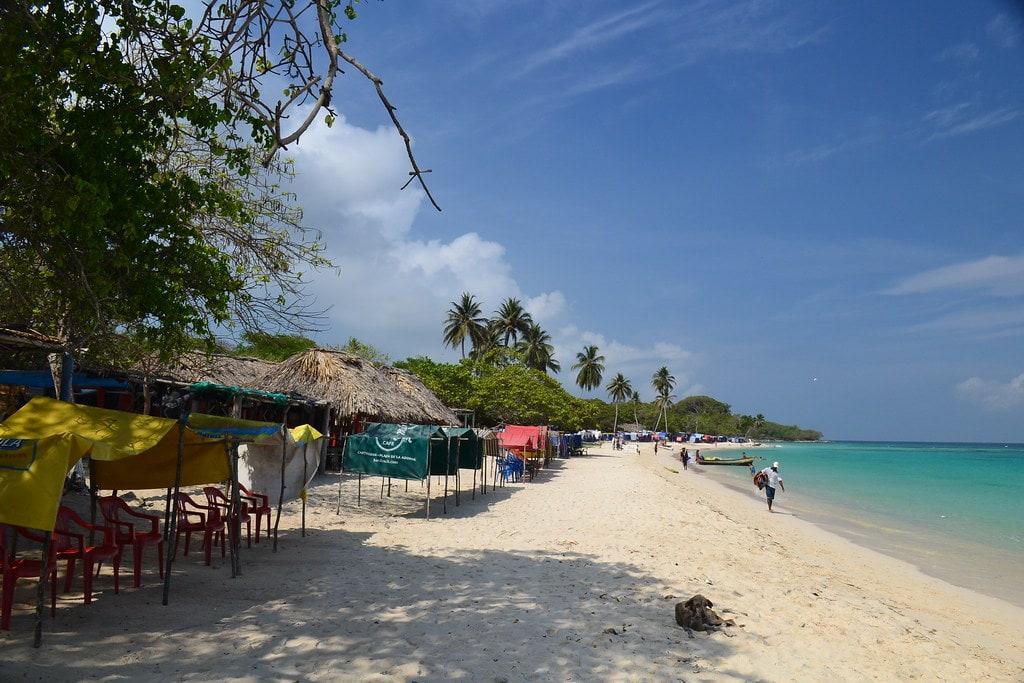 dormir en Isla de Barú Colombia