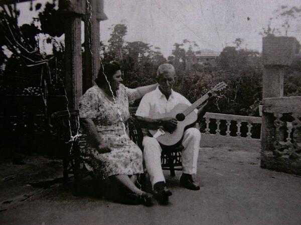 José y Margarita Paronella