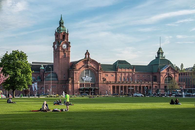 Estación central de Wiesbaden