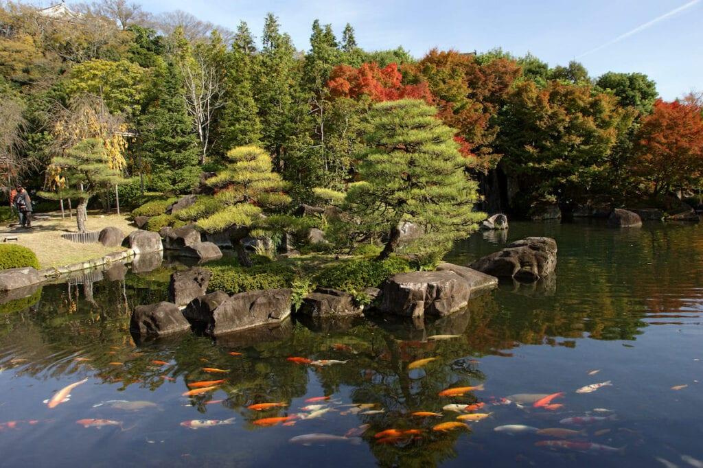 Jardín Kokoen Japón