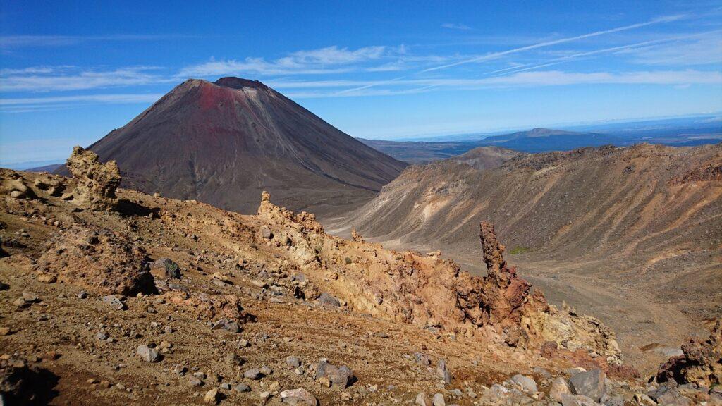 Volcán Tongariro, Parque Nacional de Tongariro