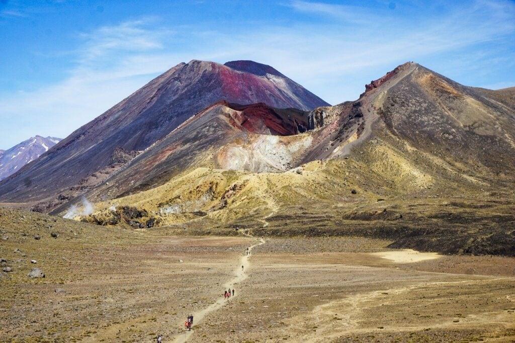 Volcanes del Parque Nacional de Tongariro