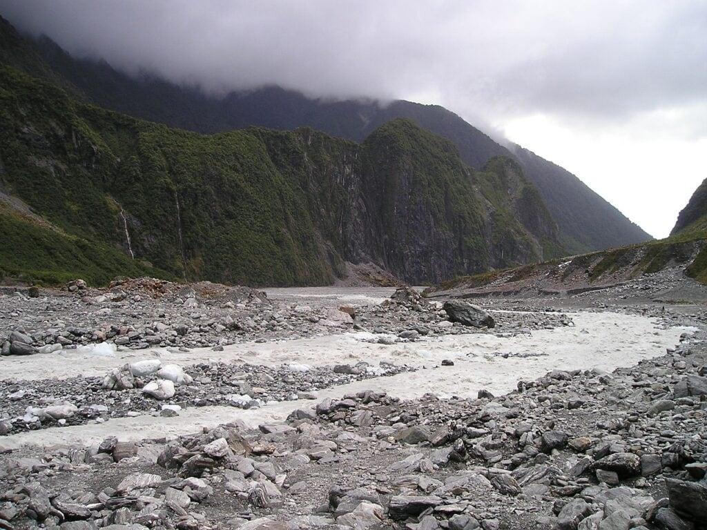 glaciar Fox, Nueva Zelanda