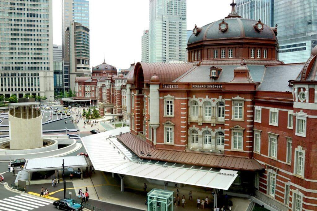 Estación de trenes de Tokio