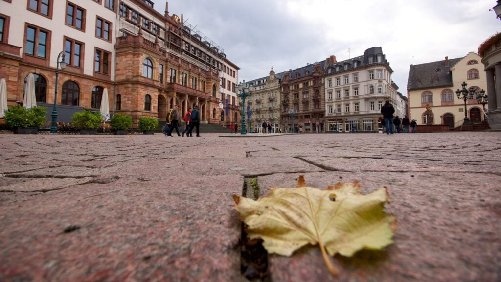 centro histórico de Wiesbaden