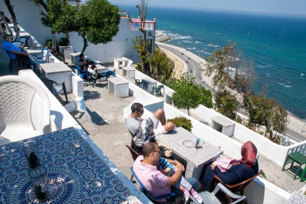 Café Hafa de Tánger