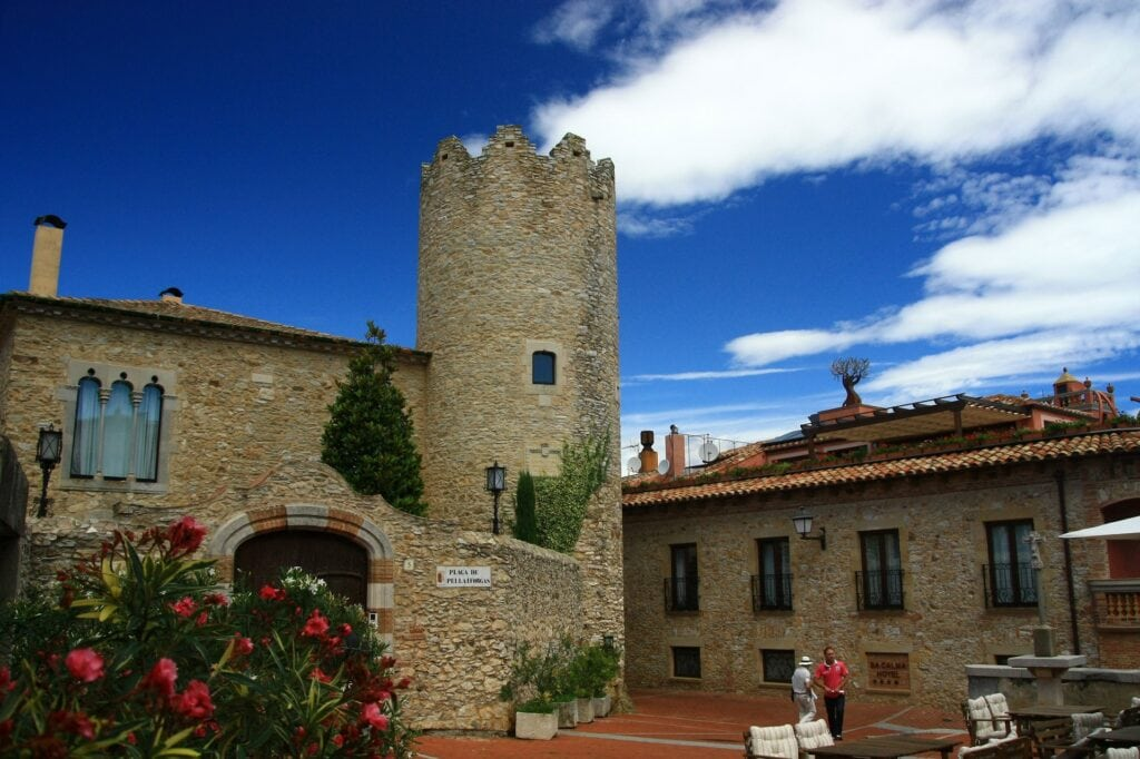 Begur, centro histórico