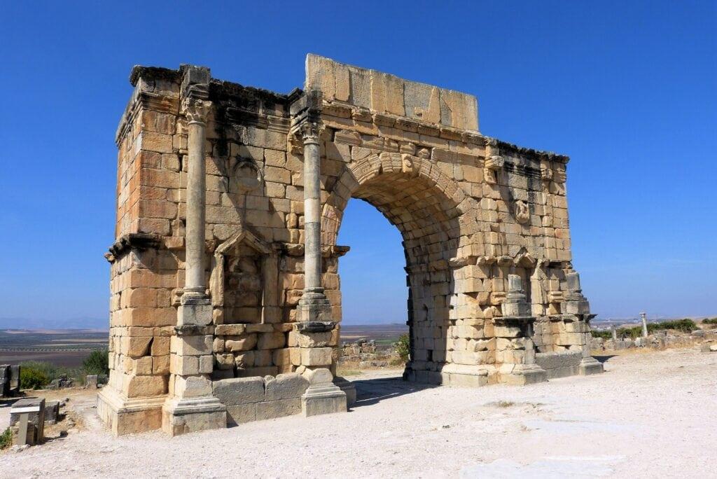 ruinas de Volubilis. Marruecos en 10 días