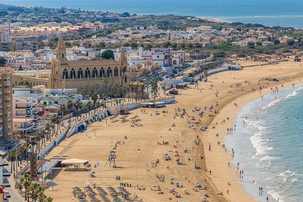 Playa de la Regla, mejores playas de Cádiz