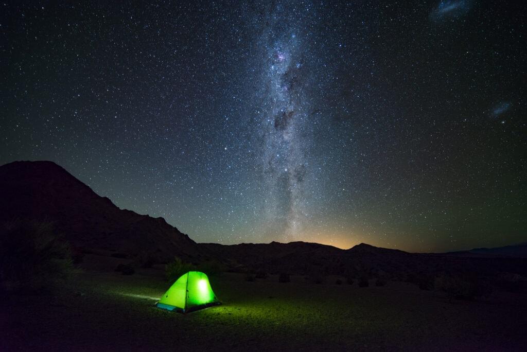 cielo nocturno Parque Nacional El Leoncito