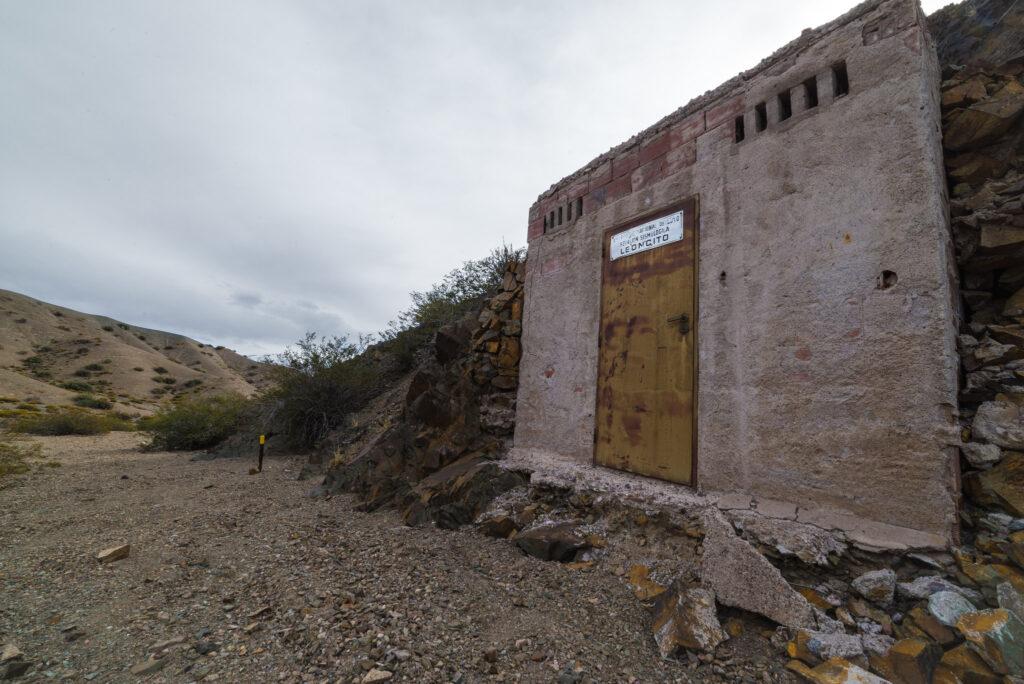 Estación sismológica - ascenso al Cerro El Leoncito