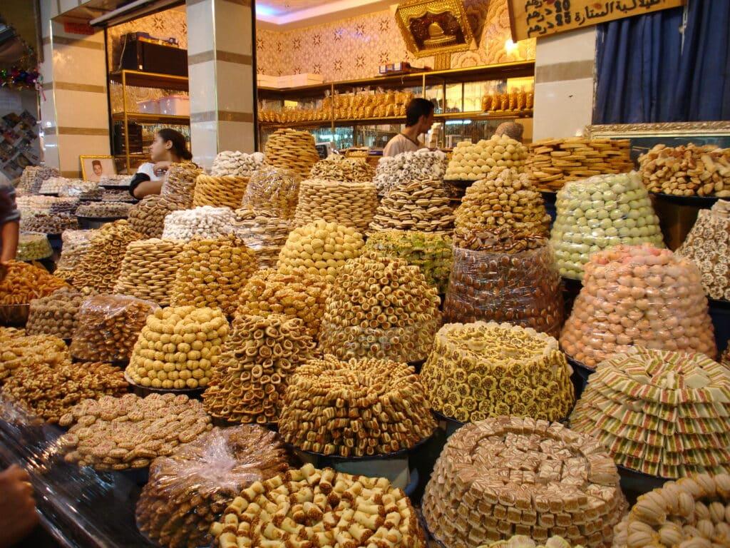 mercado de Meknes