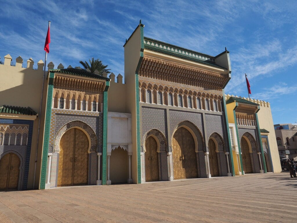 Palacio Real de Fez, Marruecos en 10 días