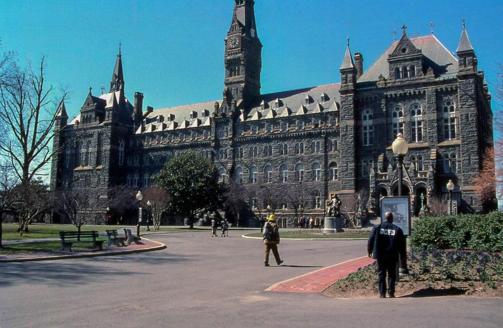 Universidad de Georgetown, costa este de Estados Unidos